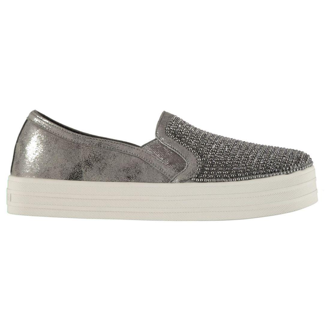 Skechers duplique Resbalón en en en Zapatillas Damas Baja  despacho de tienda