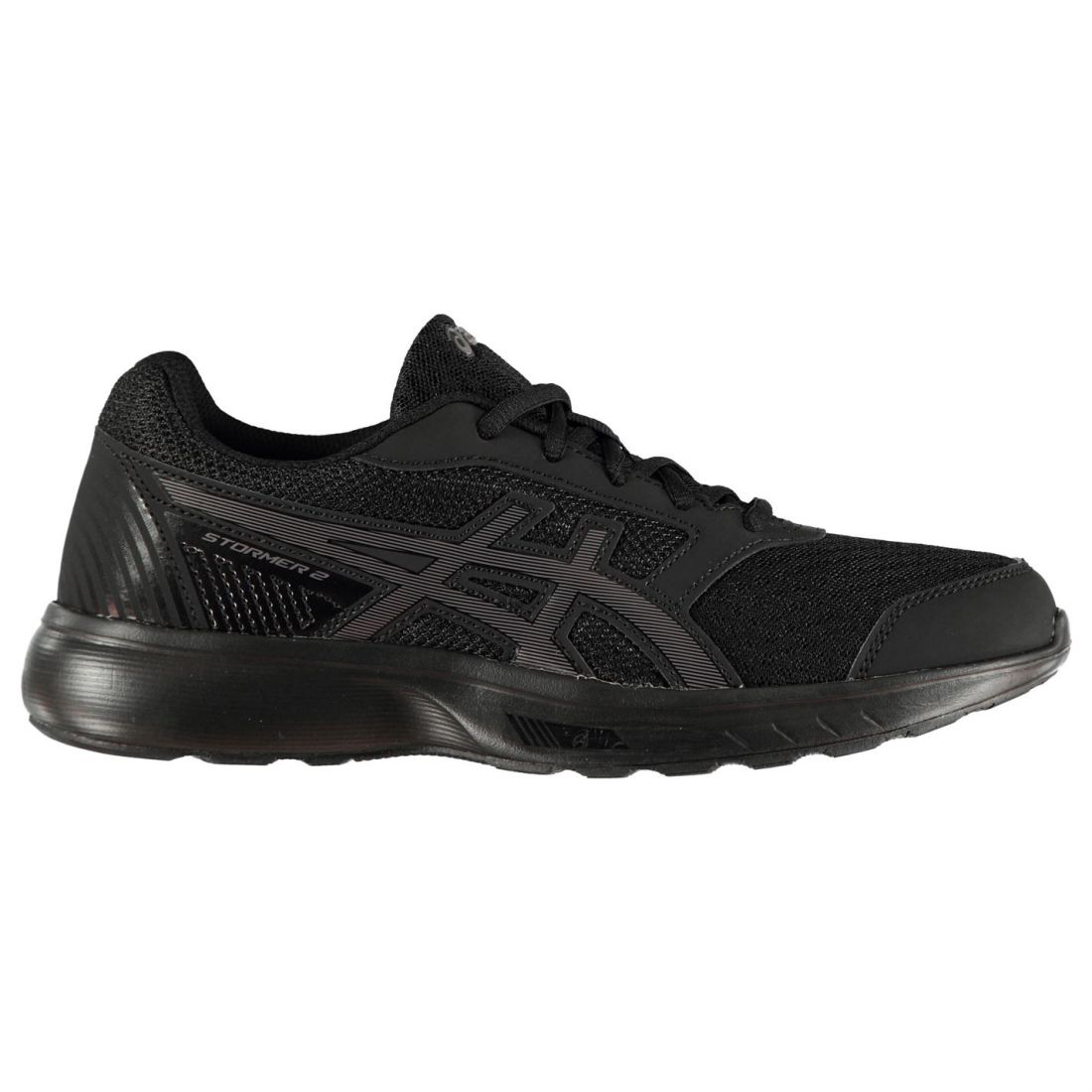 Asics Stormer 2  Sneakers Ladies Runners Laces Fastened Padded Ankle Collar  first time reply