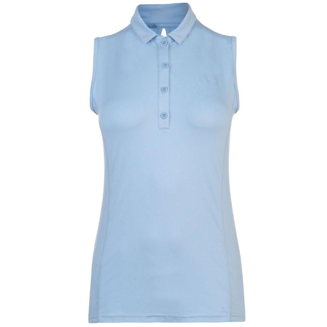 3d10c45400b8e Image is loading Slazenger-Womens-Sleeveless-Polo-Shirt-Performance-Tee-Top
