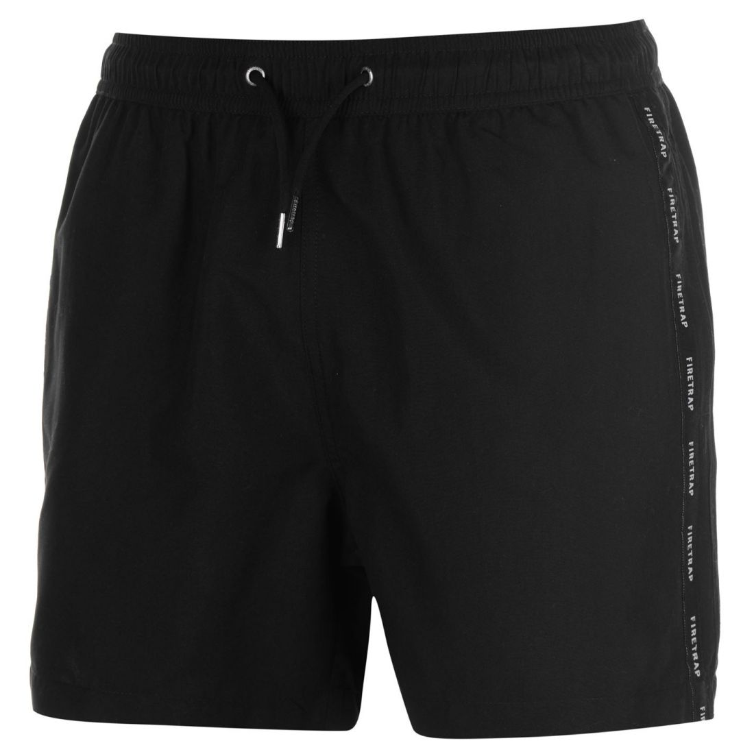 9faf950650fb5 Firetrap Mens Taped Swim Shorts Pants Trousers Bottoms Mesh Drawstring 2 2  of 4 ...