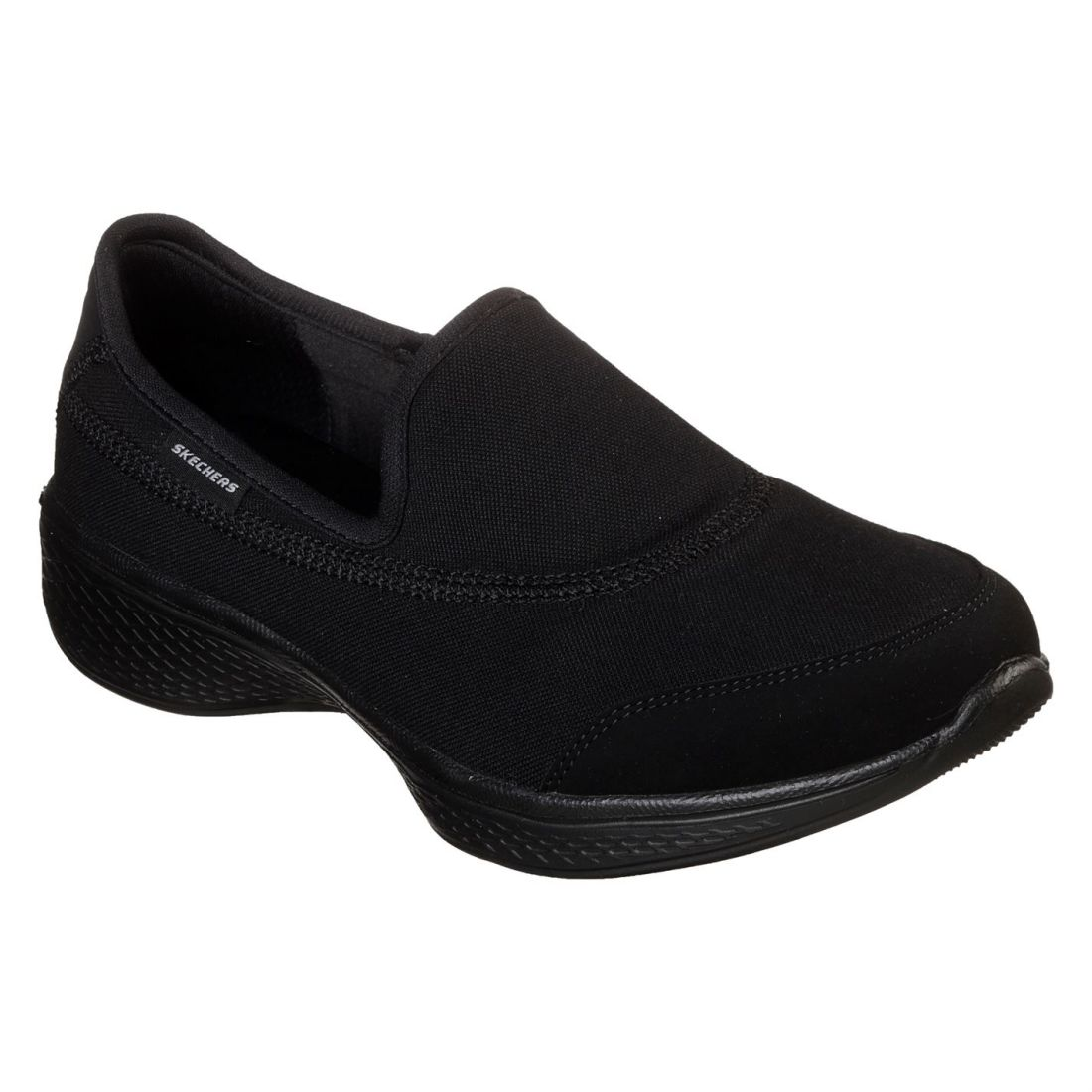 cae8ef03e52 Details about Skechers Womens Ladies GoWalk Core Slip On Trainers Sports  Shoes