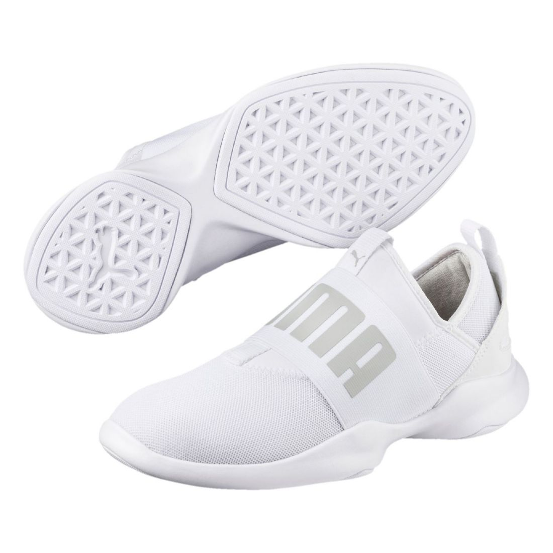Image is loading Puma-Womens-Dare-Trainers-Slip-On-Strap-Seamless- f164e1137