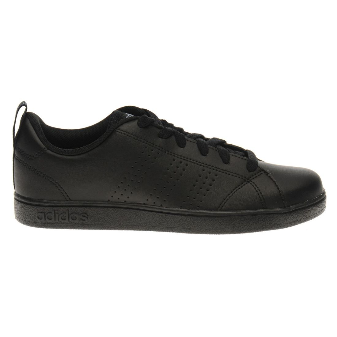 dacfe1250 adidas Neo VS Advantage Clean K Shoes Trainers Black Onyx Gazelle ...