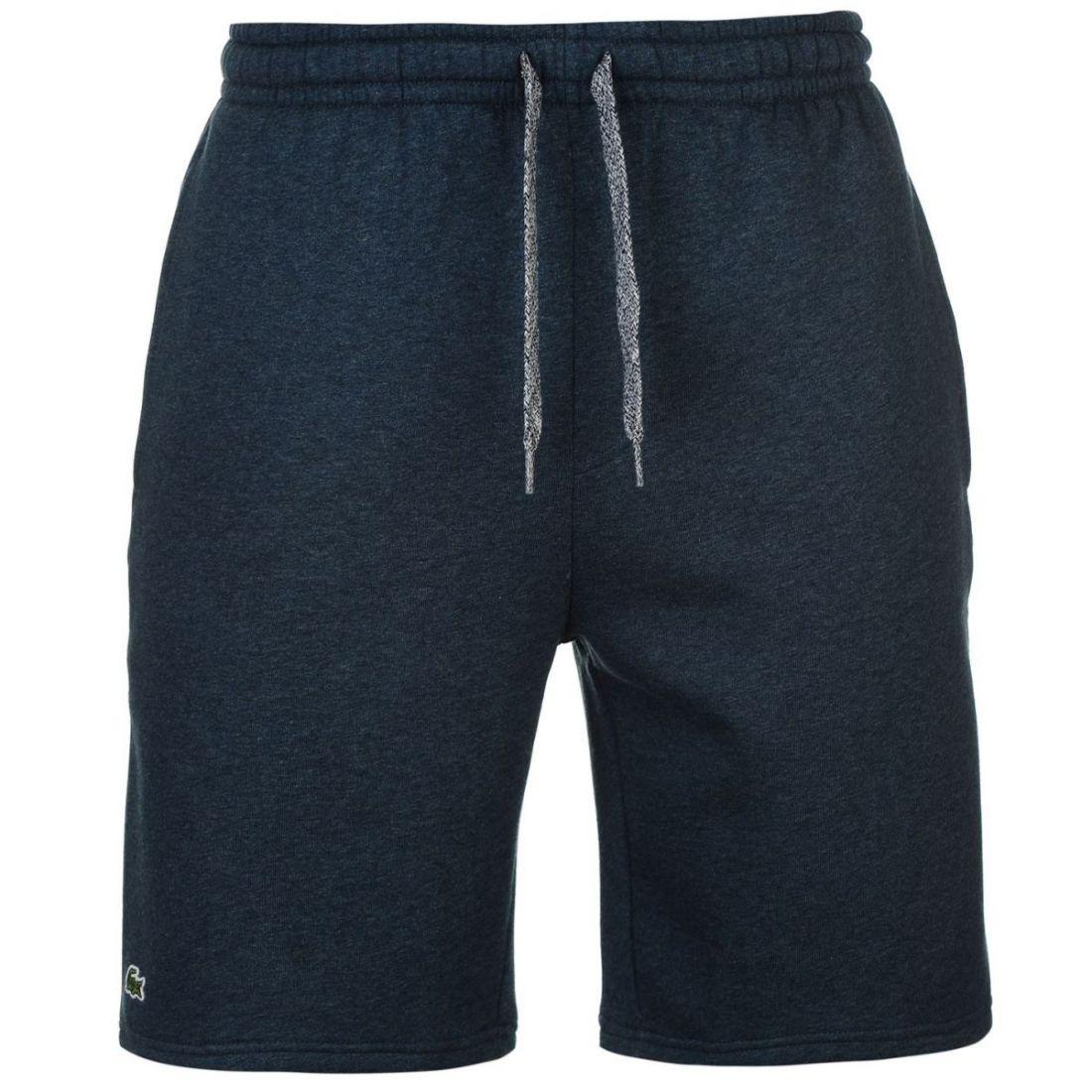 Lacoste-Fleece-Jogger-Shorts-Mens thumbnail 2