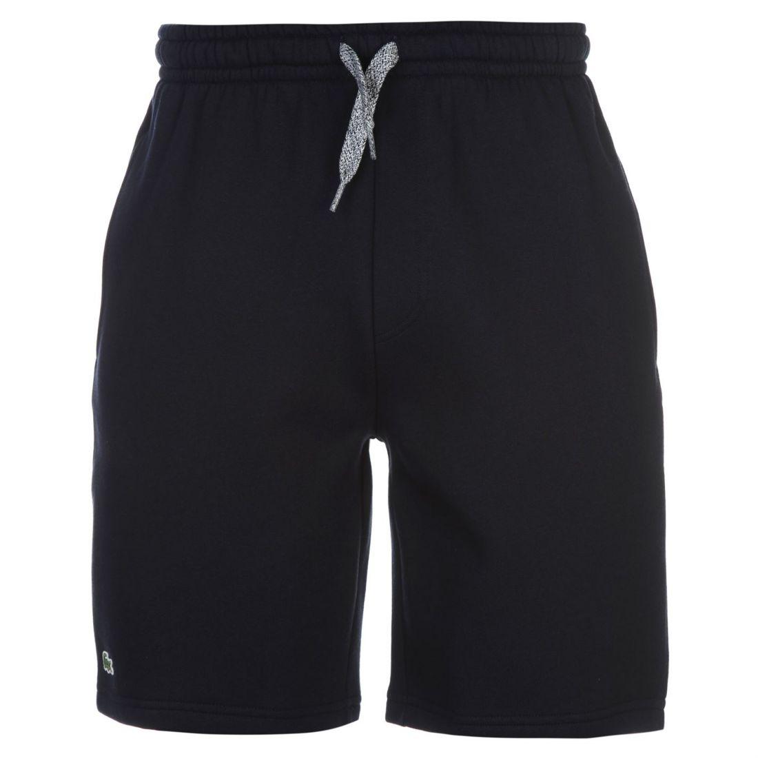 Lacoste-Fleece-Jogger-Shorts-Mens thumbnail 3