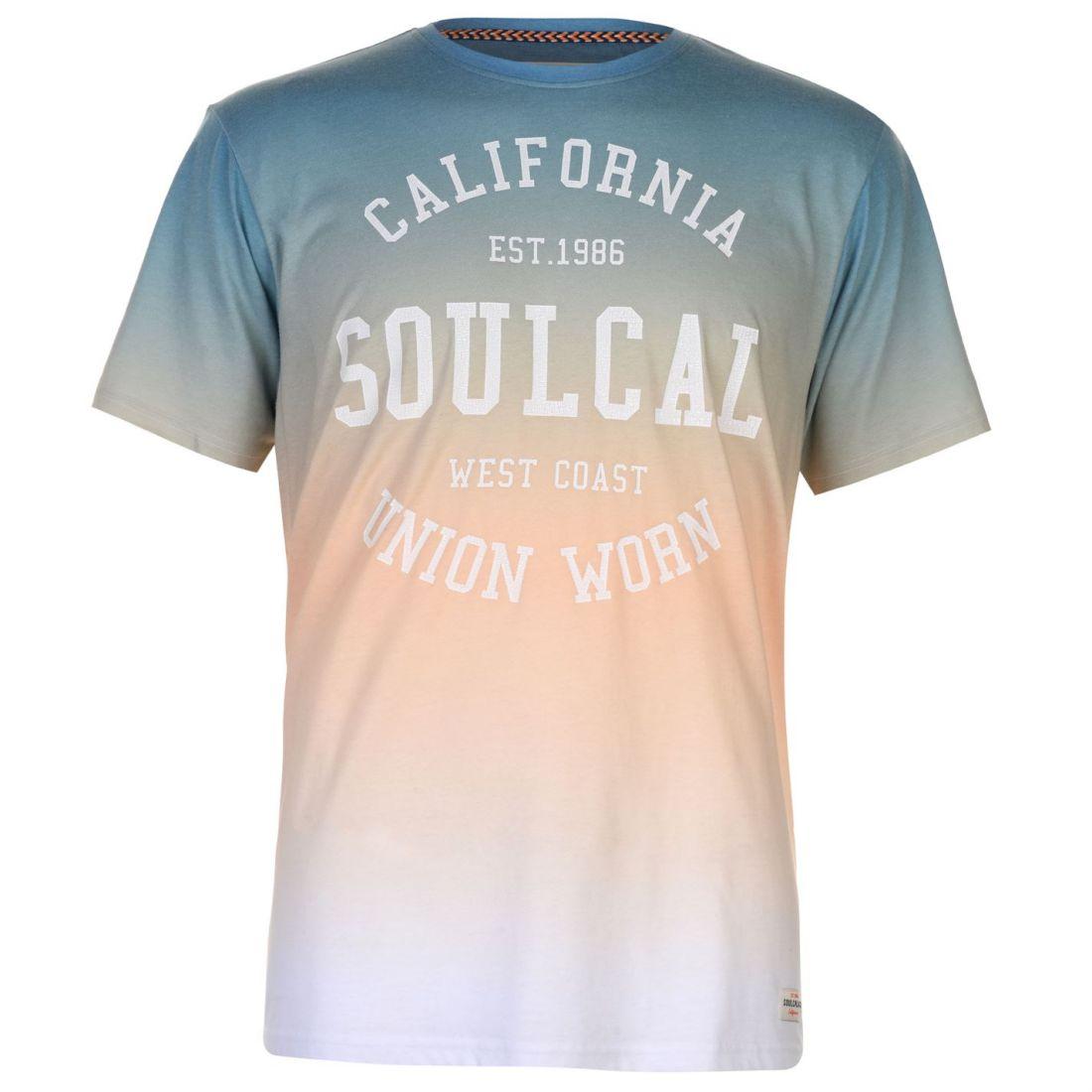 8d6c8652 SoulCal Sublime T Shirt Mens Gents Crew Neck Tee Top Short Sleeve ...