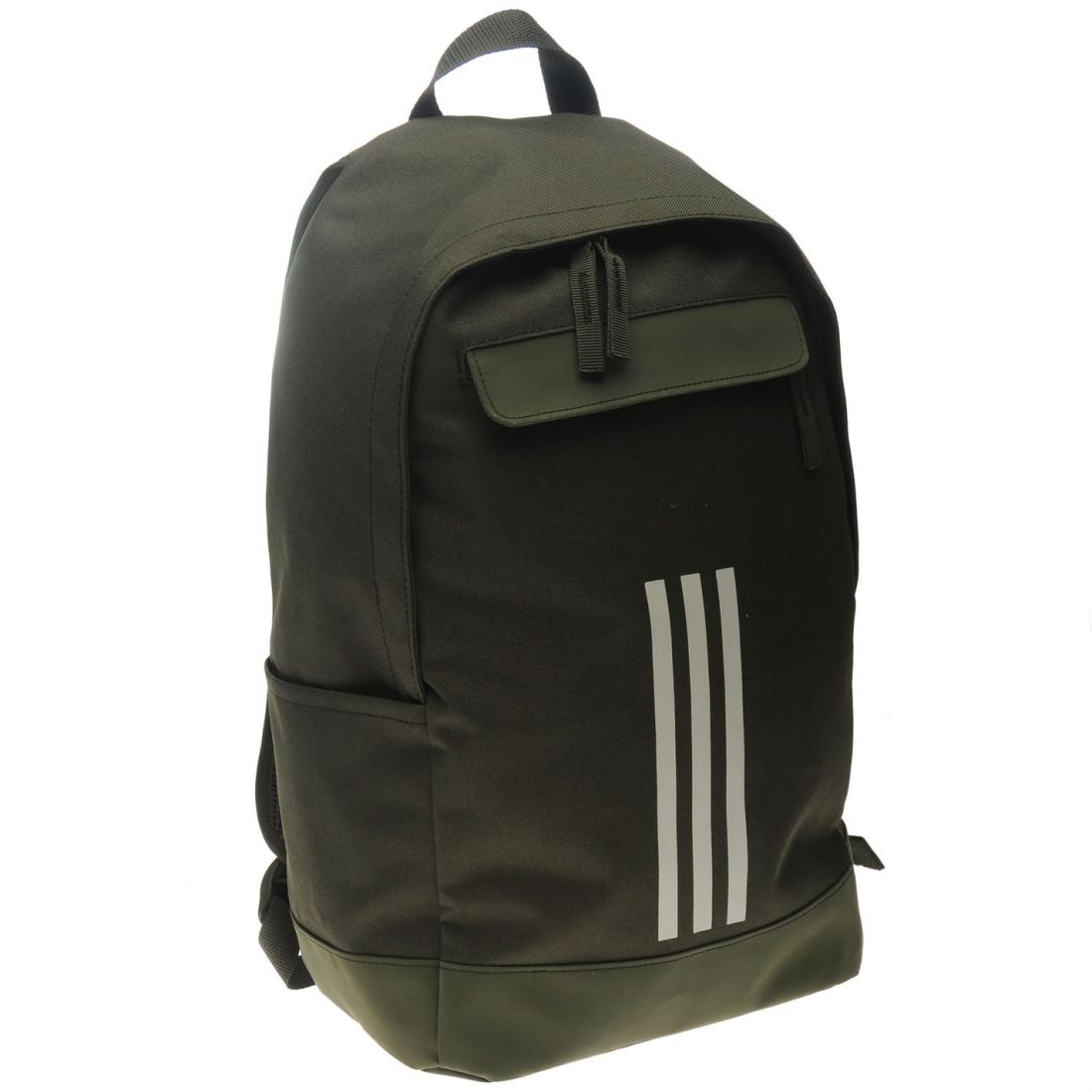 9d28b197428c Details about adidas Unisex Classic 3 Stripe Backpack Back Pack Zip Mesh