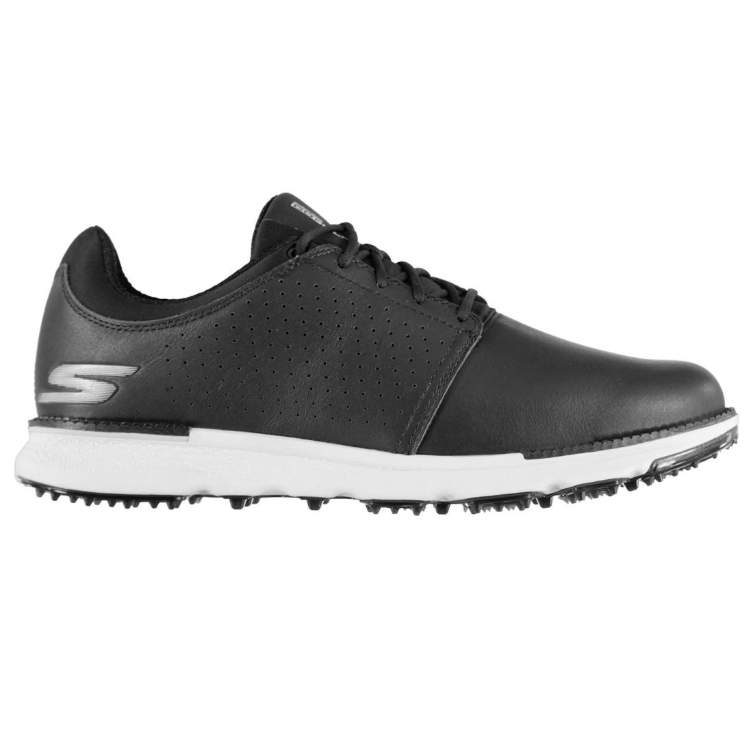 6f832c24ba0a Skechers Mens Elite Golf Shoes Spikeless Lace Up Waterproof Padded ...