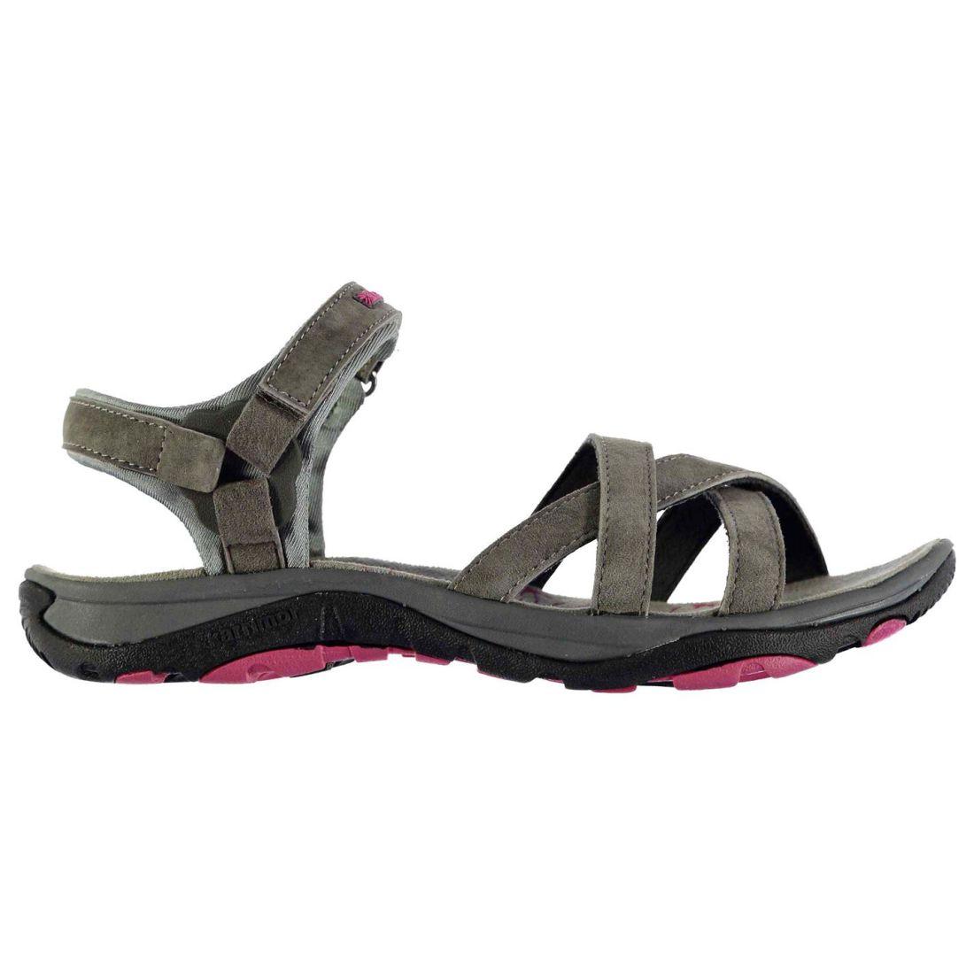 a76022e57fd0c Karrimor Ladies Salina Leather Walking Sandals Shoes Footwear