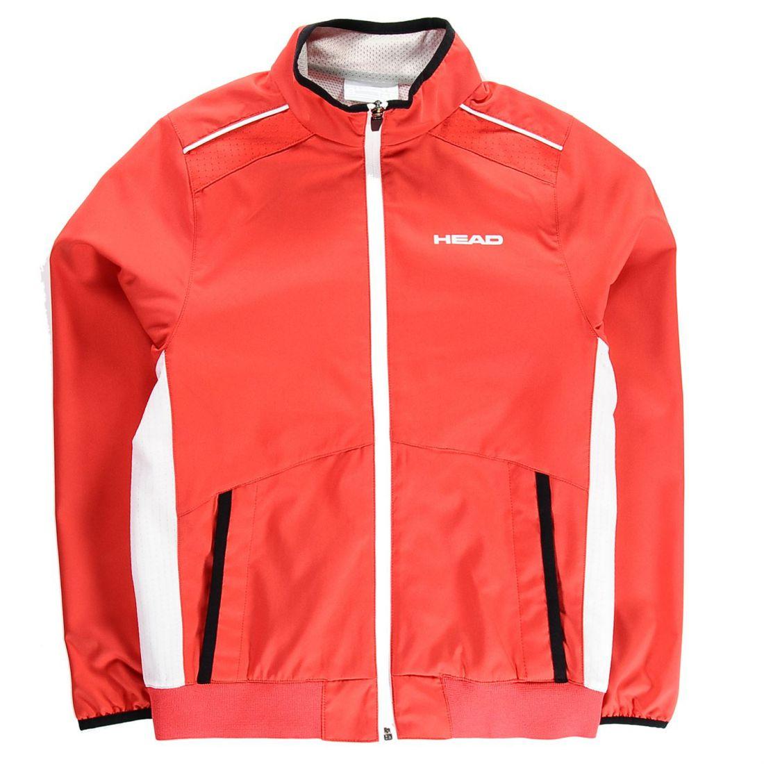 791a1fee5 HEAD Club Boys Jacket Performance Coat Top Full Length Sleeve ...