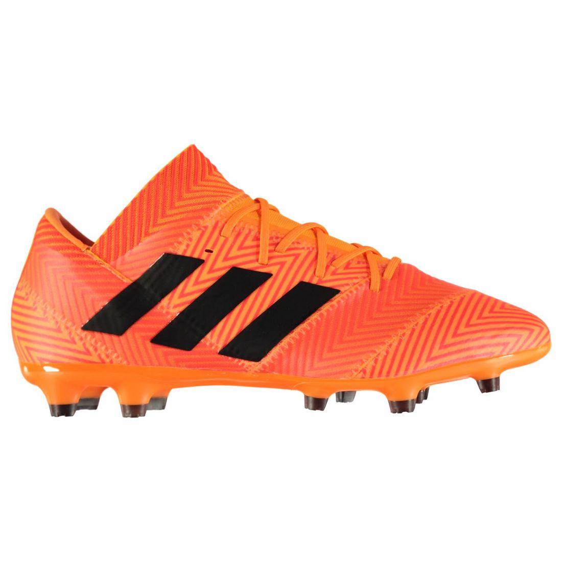 fe3d53042b7 adidas Nemeziz 18.2 FG Football Boots Mens Gents Firm Ground Laces ...
