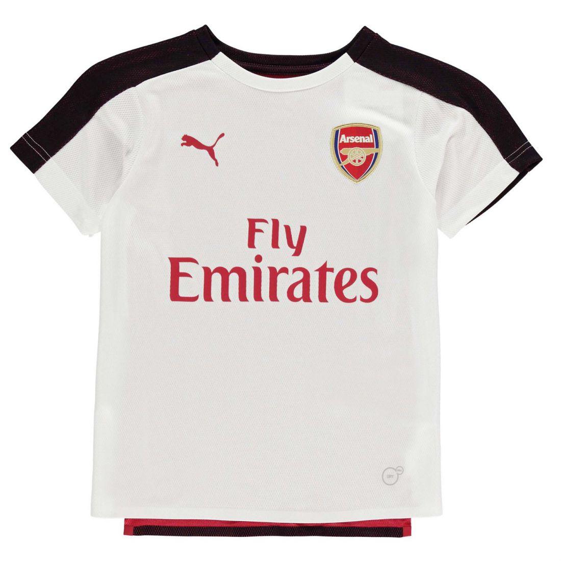5ededcf1c Puma Kids Arsenal Stadium Shirt 2018 2019 Junior Domestic Short ...
