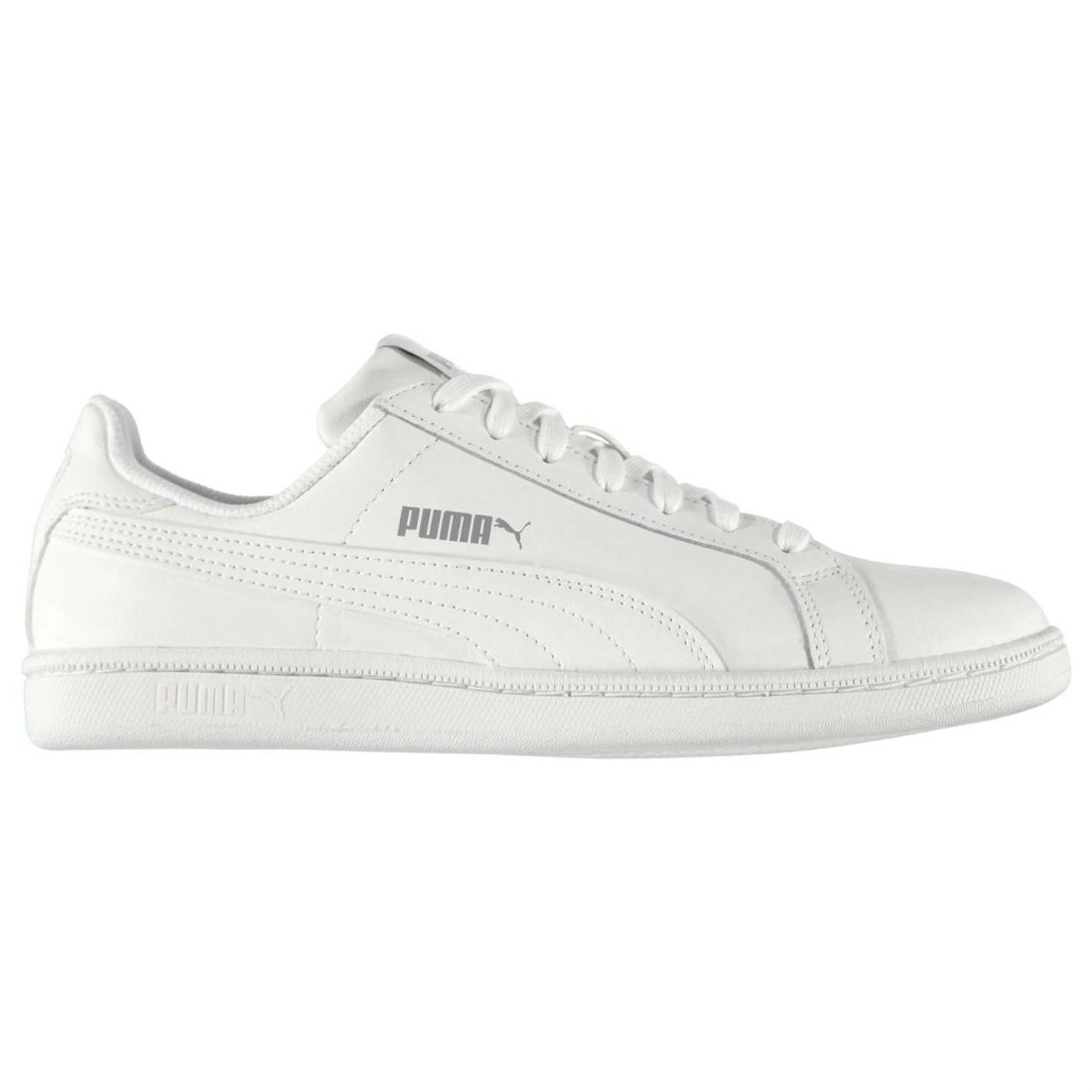 Image is loading Puma-Smash-Leather-Trainers-Pumps-Running-Sneakers-Lace- 4c5fd4005