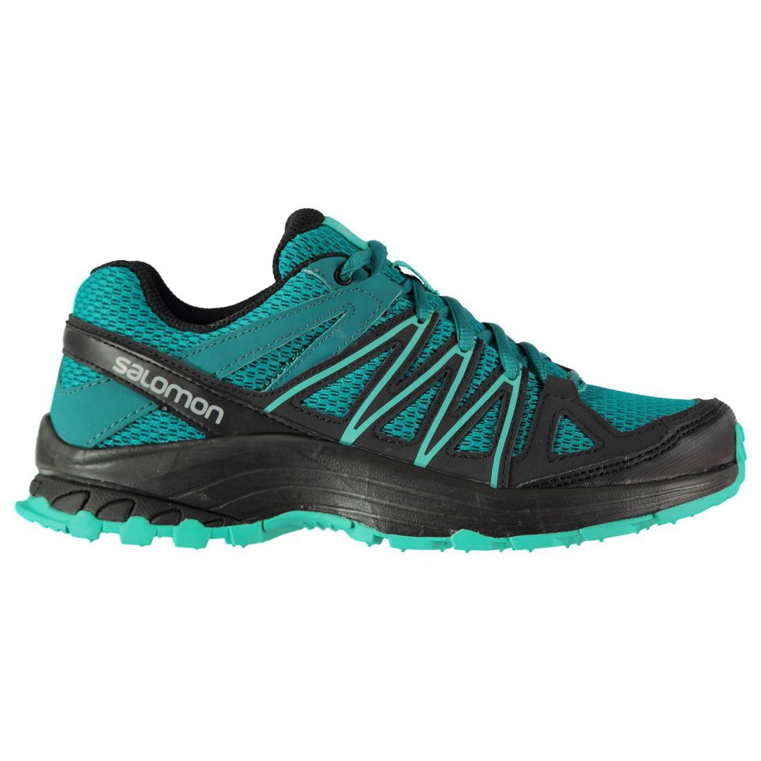 info for c9807 02167 Salomon Ladies Bondcliff Trail Running Shoes Laces Fastened Footwear