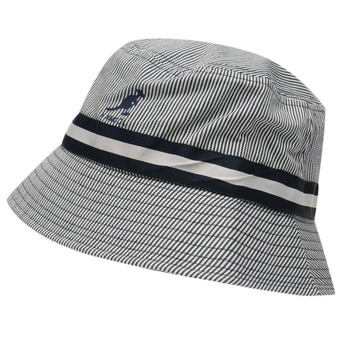 1094f826fcc1b Details about Kangol Mens Stripe Bucket Hat Lightweight