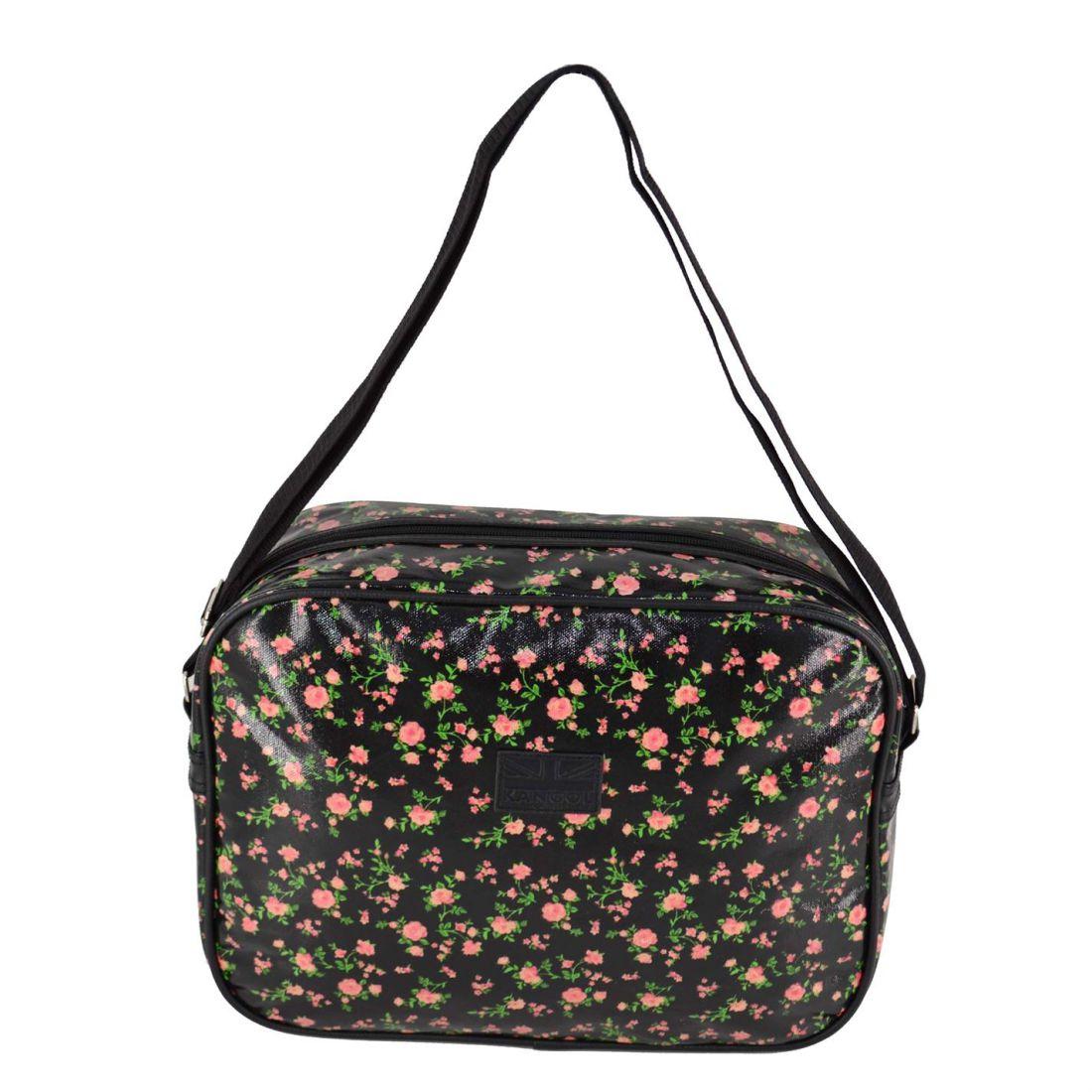 ba780116 Kangol Womens Vinyl Flight Bag Luggage Storage Carry Strap Travel ...