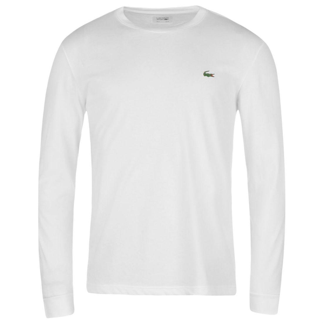 57fdeadf38 Details about Mens Lacoste Basic Logo Long Sleeve T Shirt New
