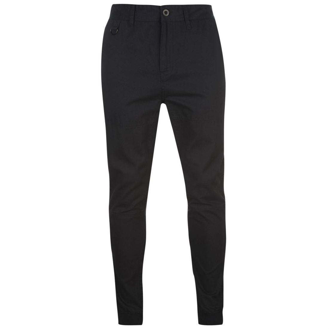 b76f14e6bd345d Airwalk Mens Woven Jogging Bottoms Sweat Pants Joggers Zip Cotton Ribbed  Ankle