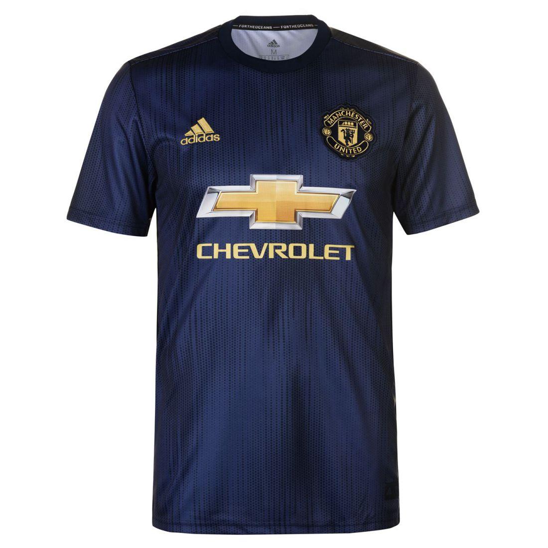 abf70efa521 adidas Mens Manchester United Third Shirt 2018 2019 Domestic ...