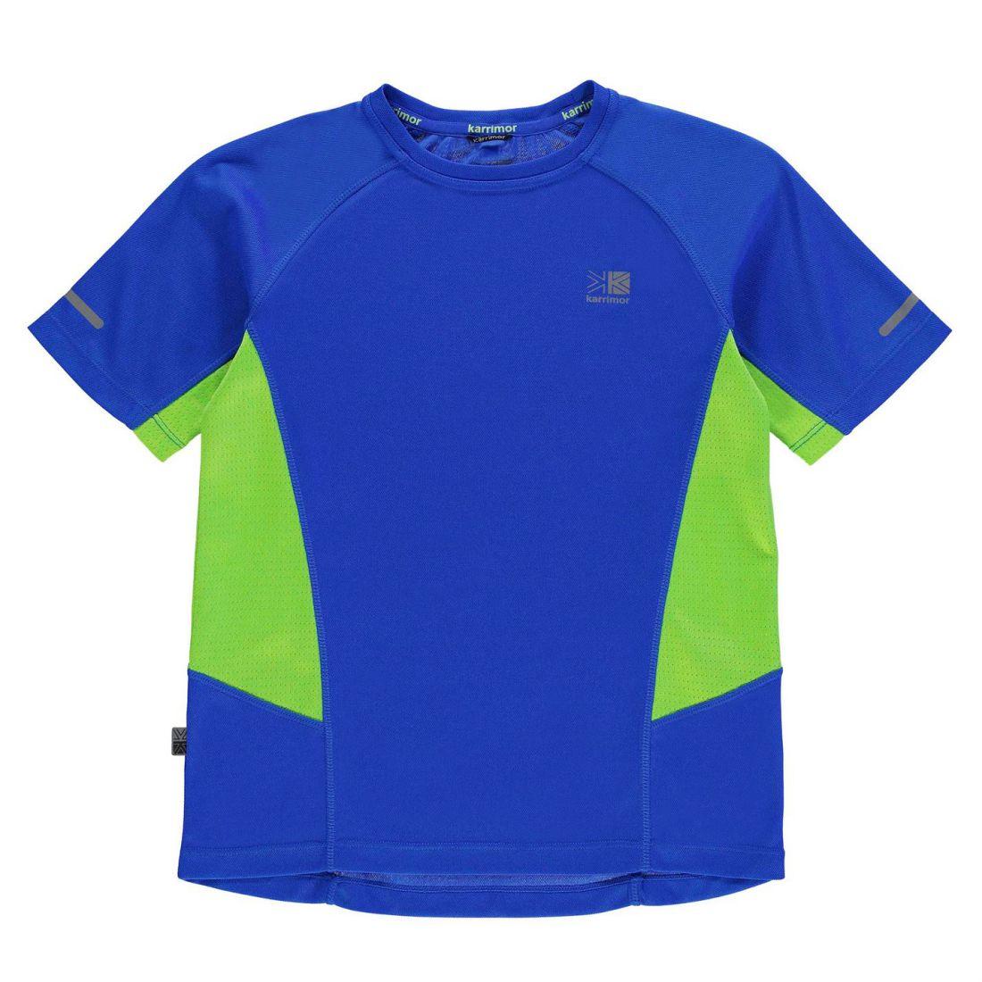 Karrimor Kids Boys Short Sleeved Running T Shirt Juniors