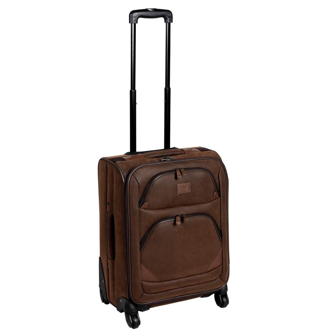 0c64dd7f4824 Details about Kangol 4 Wheel Suitcase Extending Handle Luggage Travel  Accessories