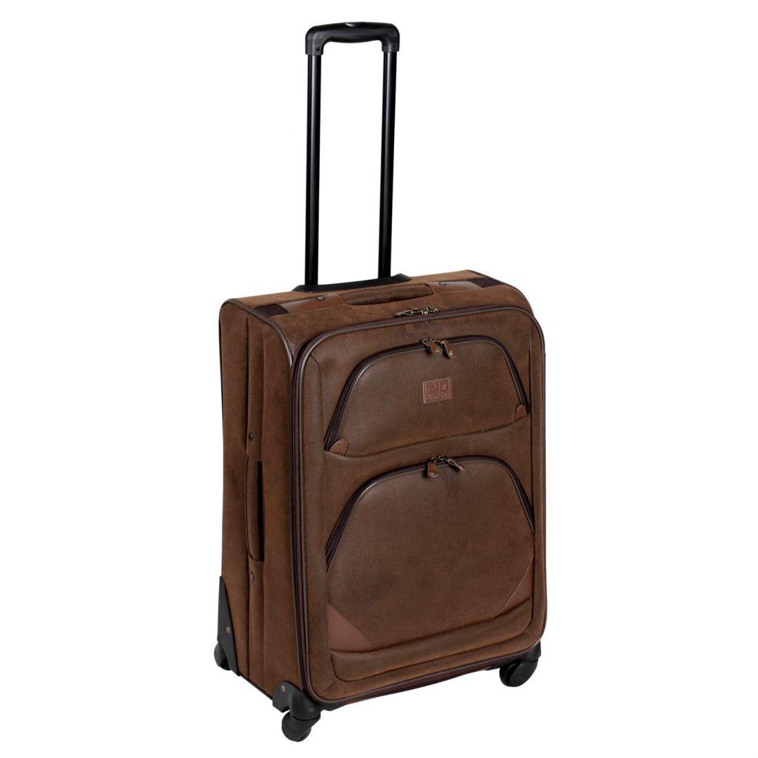 Image is loading Kangol-4-Wheel-Suitcase-Extending-Handle-Luggage-Travel- 6555f989c3