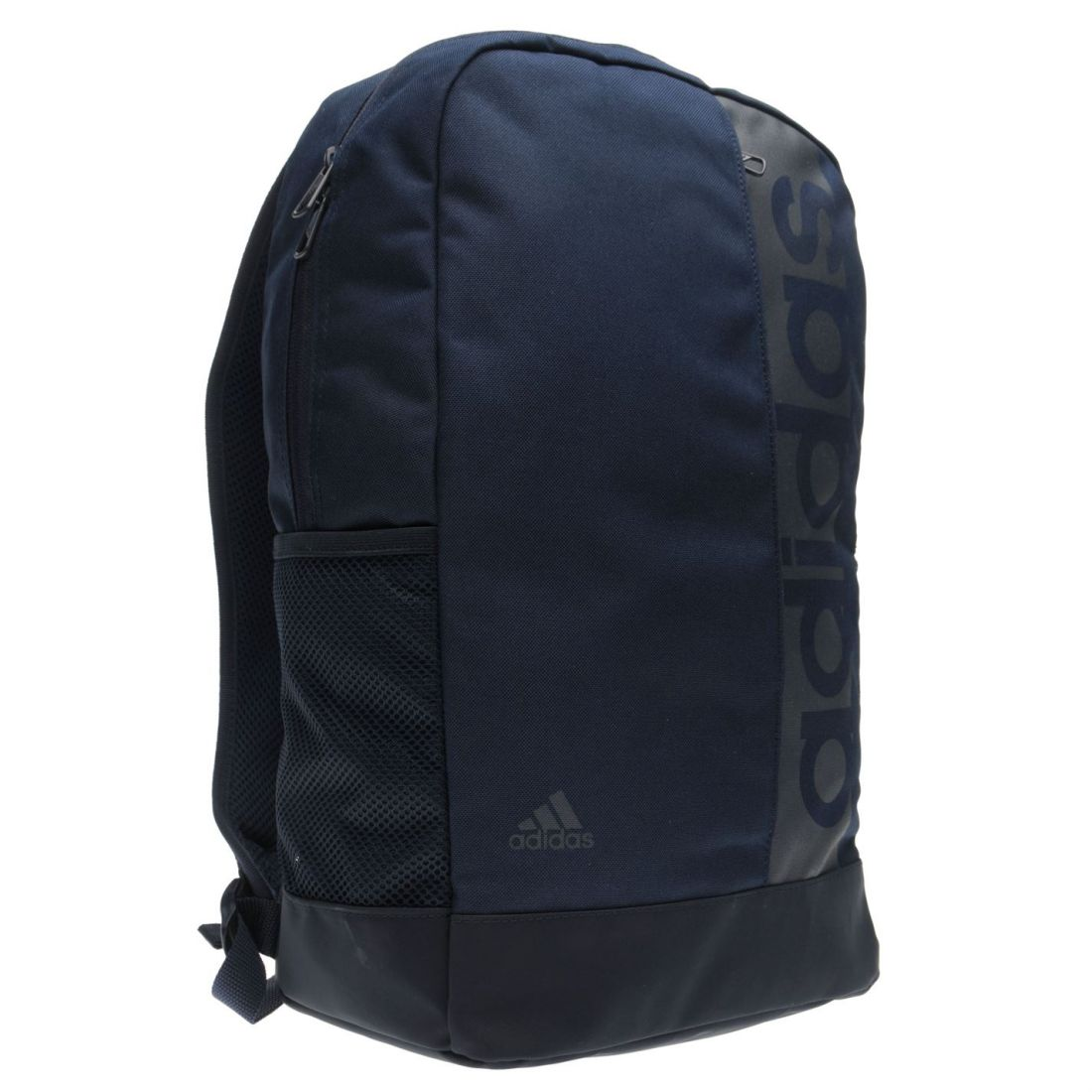 adidas Unisex Linear Backpack Back Pack Zip Mesh Sport  fc1b45acfc1cd