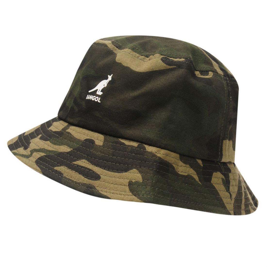 261e0b01679 Details about Kangol Mens Camouflage Bucket Hat Cotton Pattern