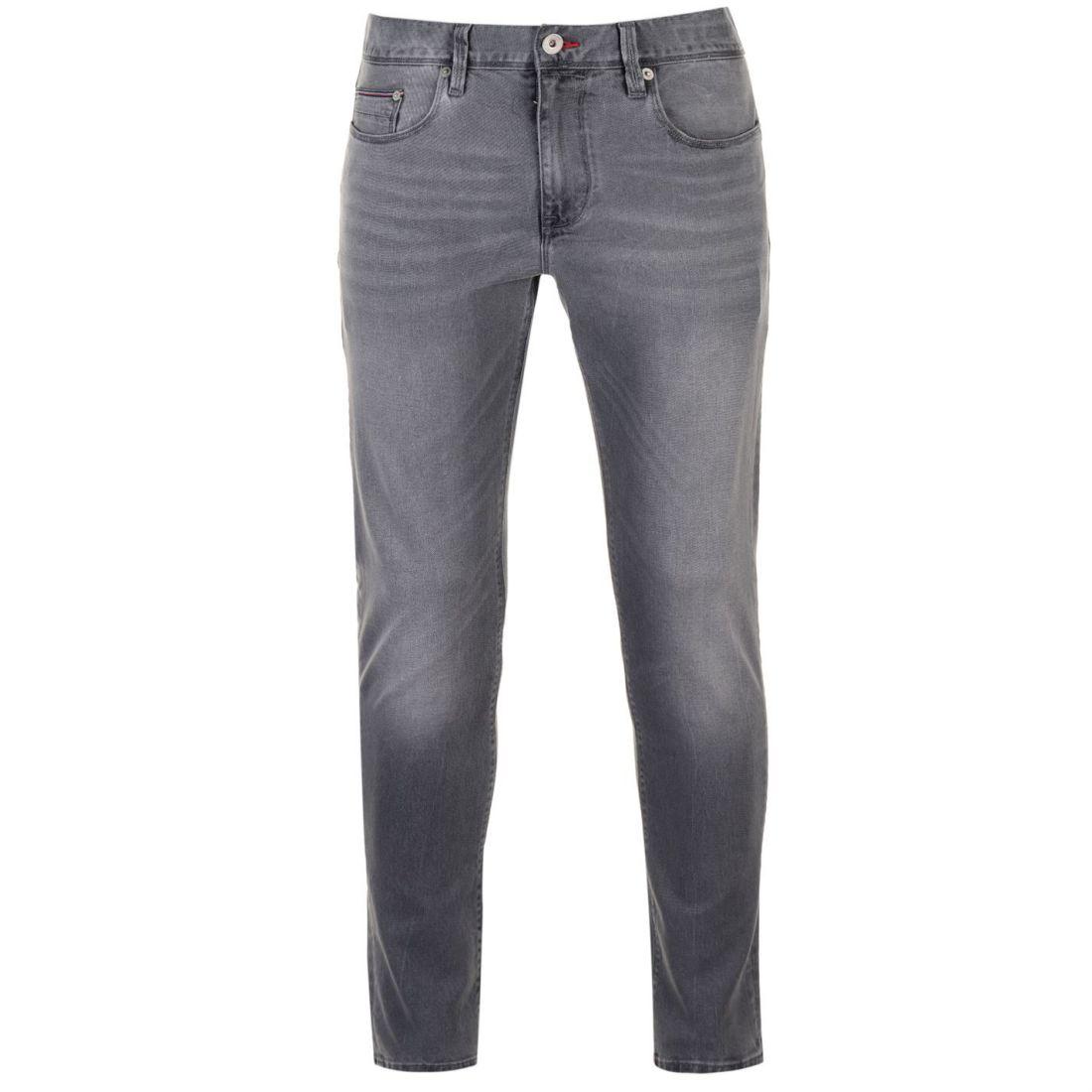7b17a6a23 Mens Tommy Hilfiger Stretch Jeans Straight Zip New | eBay