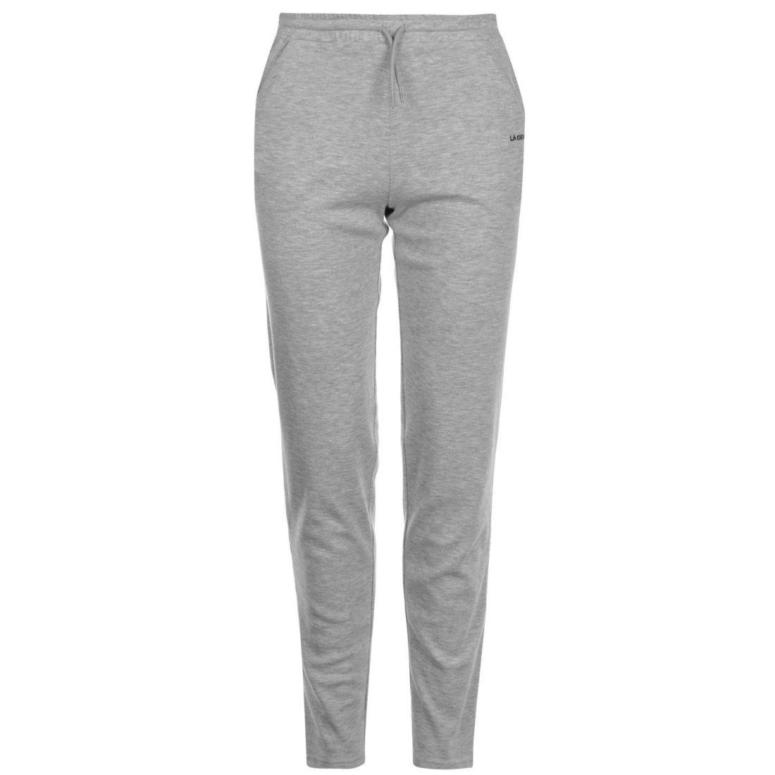 La Gear I LK Pants Sports Running Jogging Joggers Womens Ladies Grey ... 3433ce178