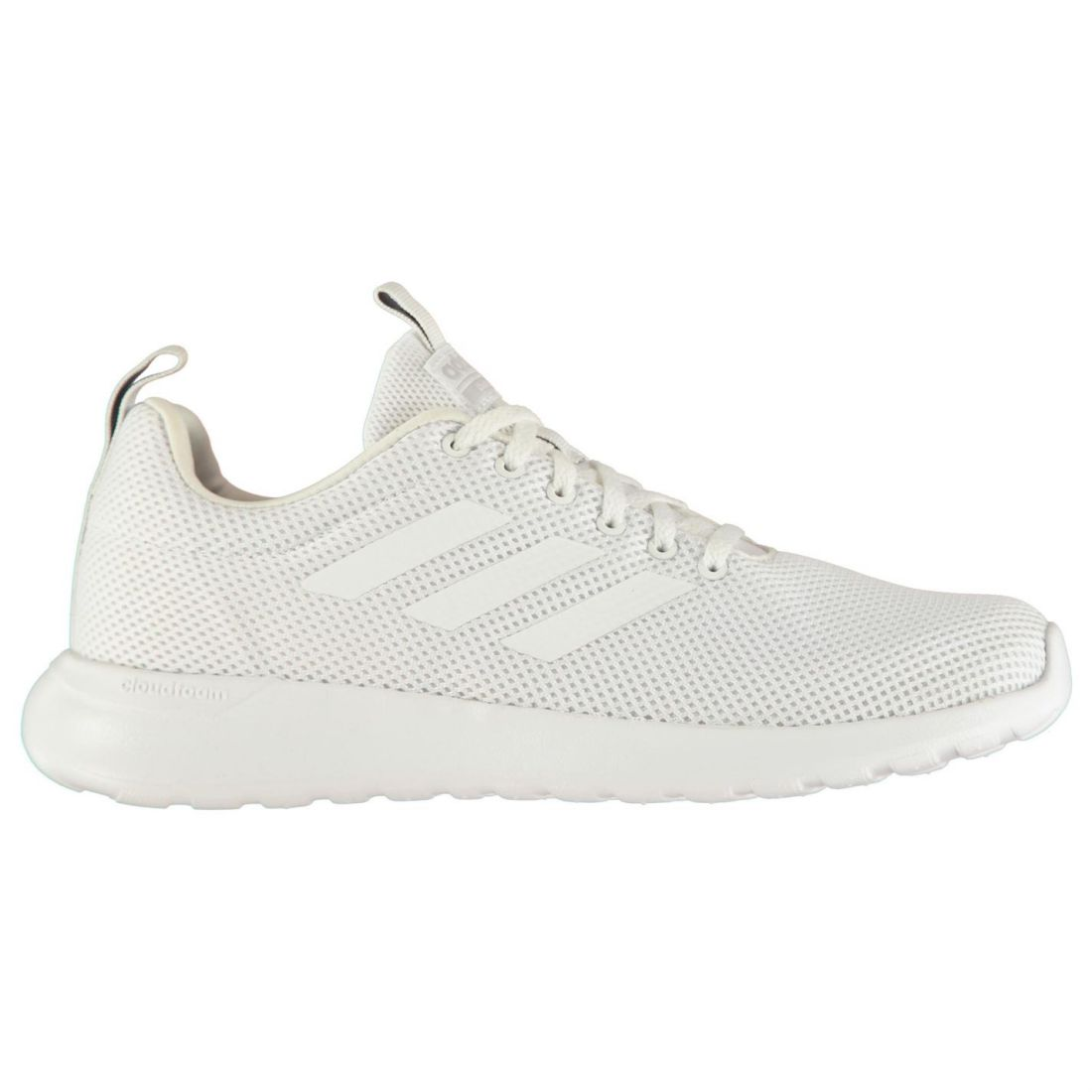 new concept 68250 e1e5f adidas Mens Cloudfoam Lite Racer Clean Trainers Runners Lace Up Mesh Upper