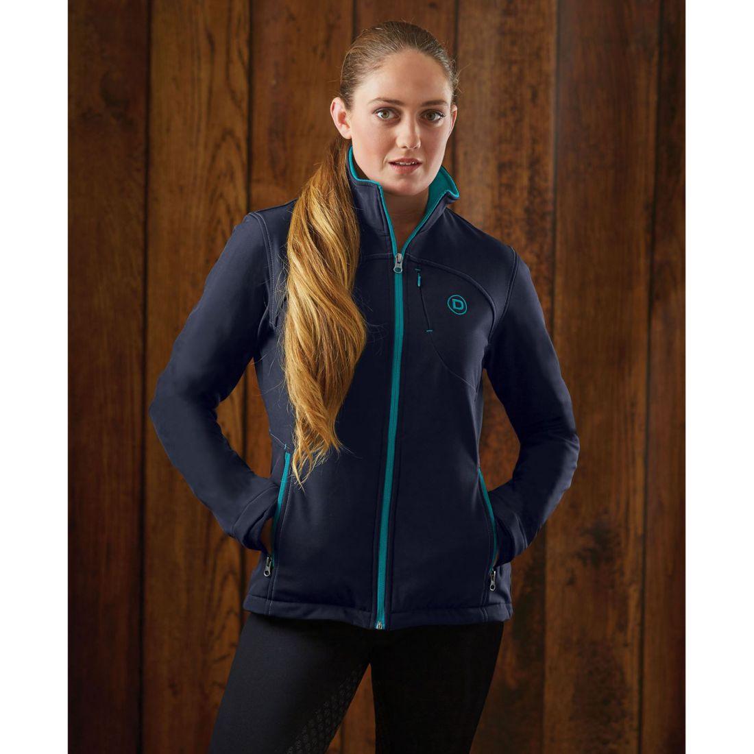 Blazers Dublin: Dublin Womens Sachi Softshell Jacket Equestrian Coat Top