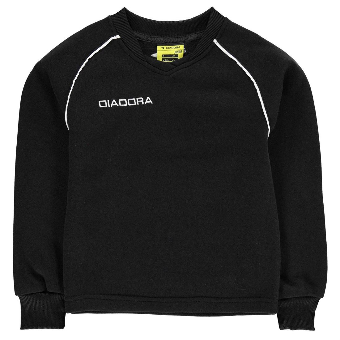 b617731be3 Details about Diadora Kids Boys Madrid Sweater Junior Sports Top Jumper  Pullover