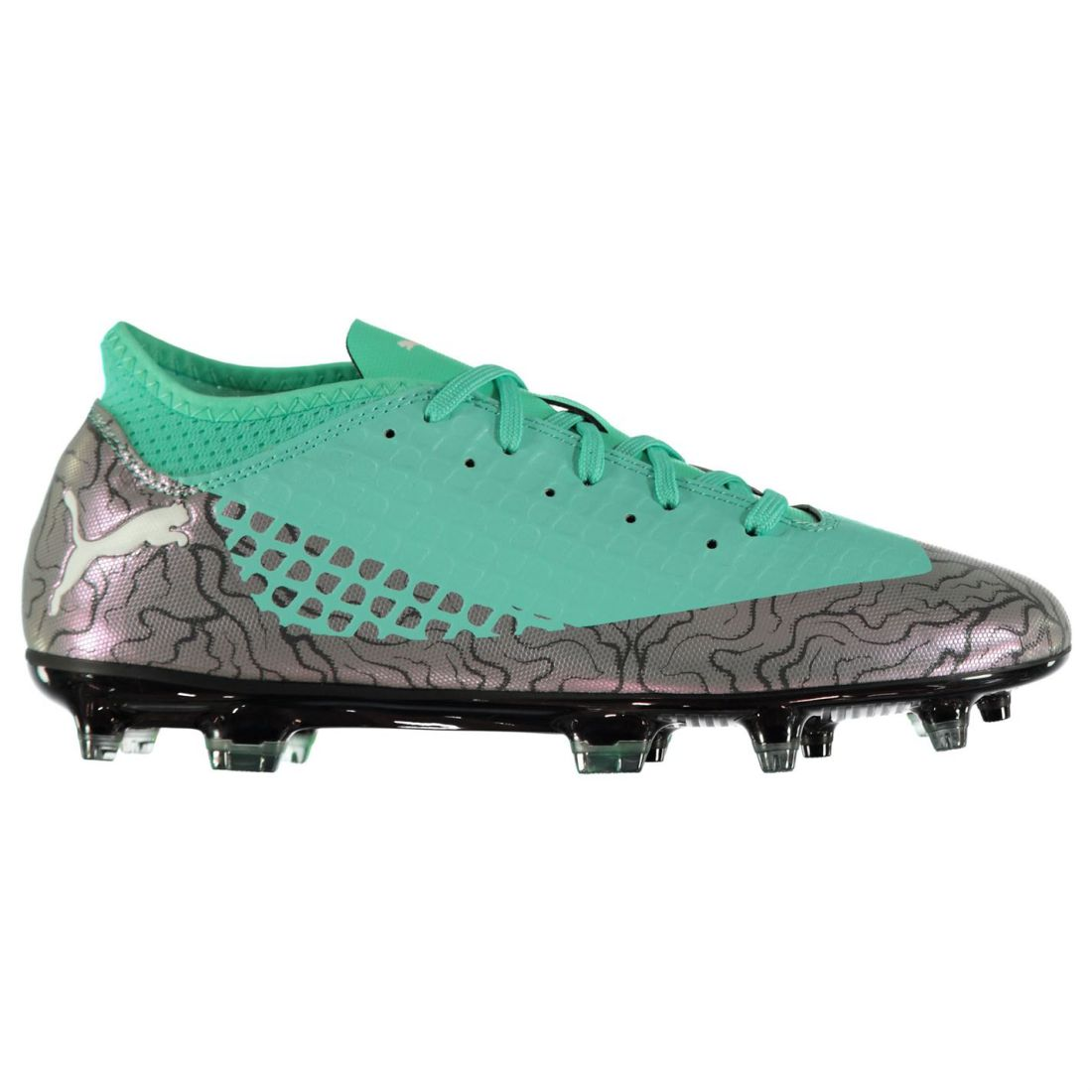 Puma Kids Future 2.4 Junior FG Football Boots Firm Ground Lace Up Studs Textured