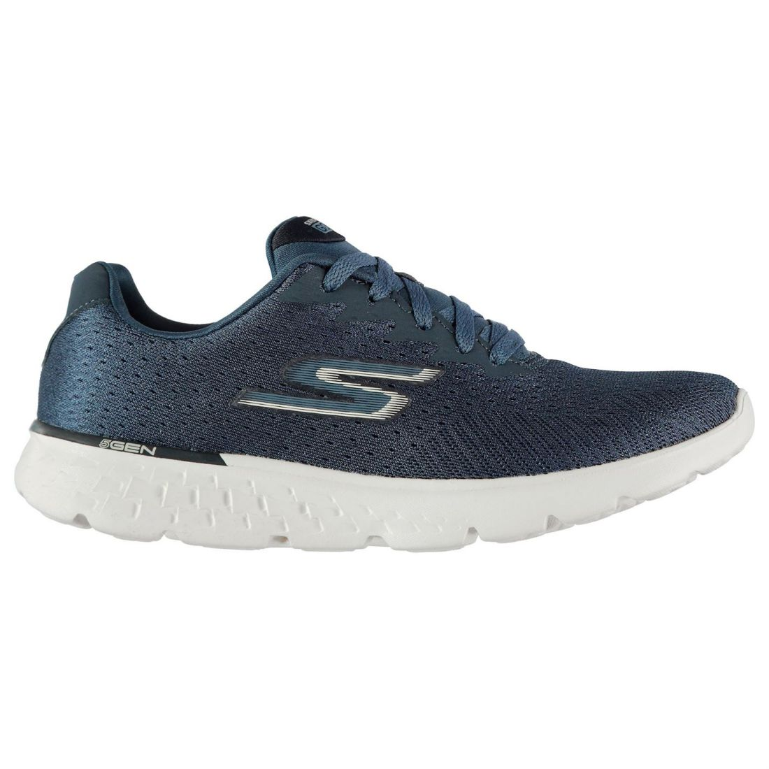 Skechers Go Run 400 Sneakers Ladies Runners Laces Fastened Padded Ankle Collar