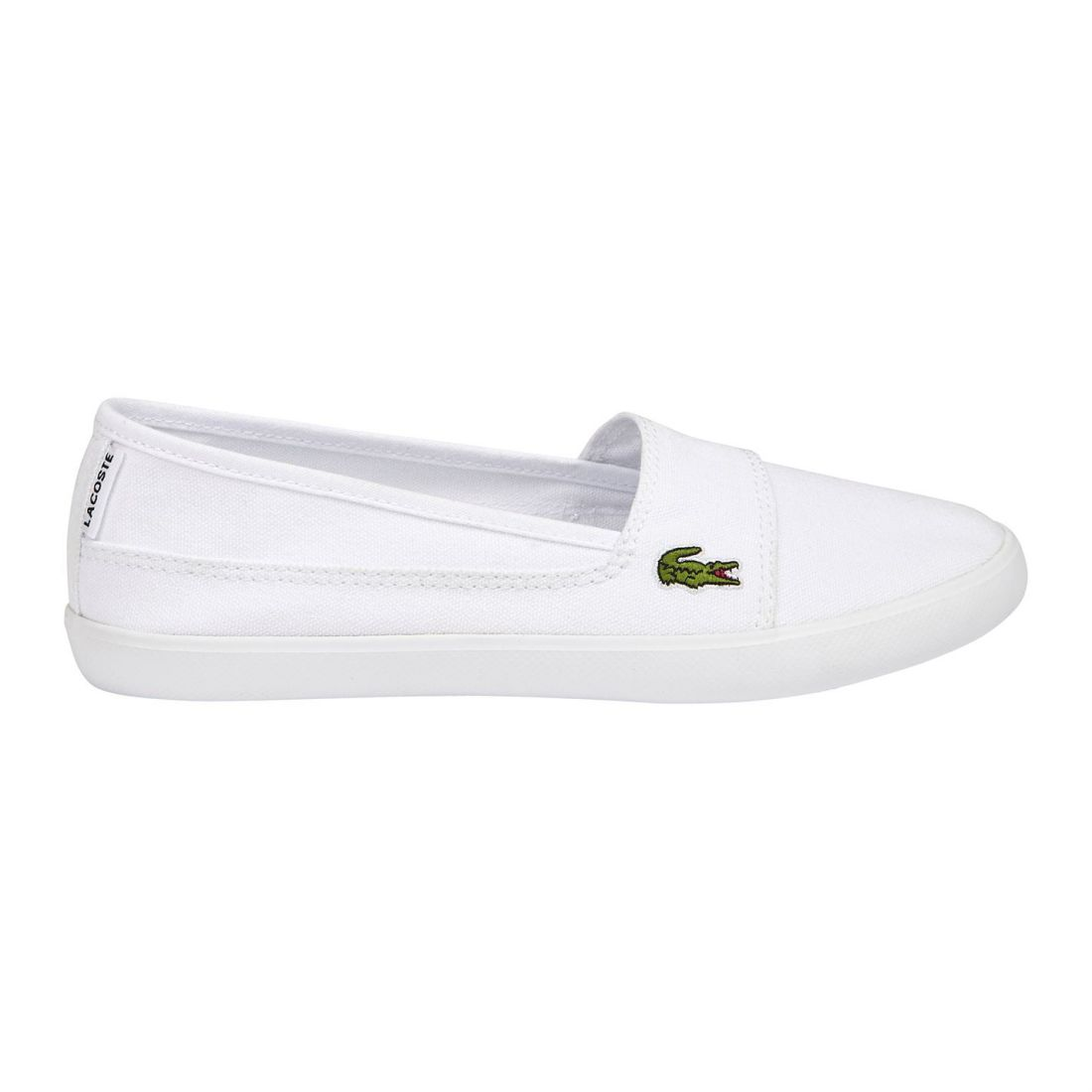 5bfcb1ba9 Image is loading Womens-Lacoste-Marice-BL-Canvas-Low-New