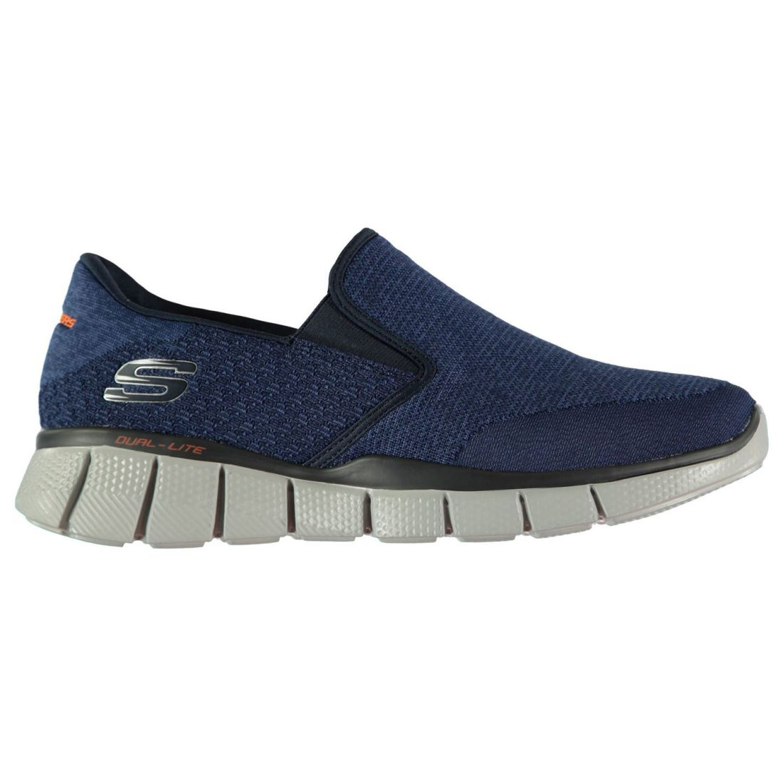Skechers Equaliser 2 2 2 Turnschuhe Mens Gents Slip On Ventilated Knit Knitwear Memory 8141f0