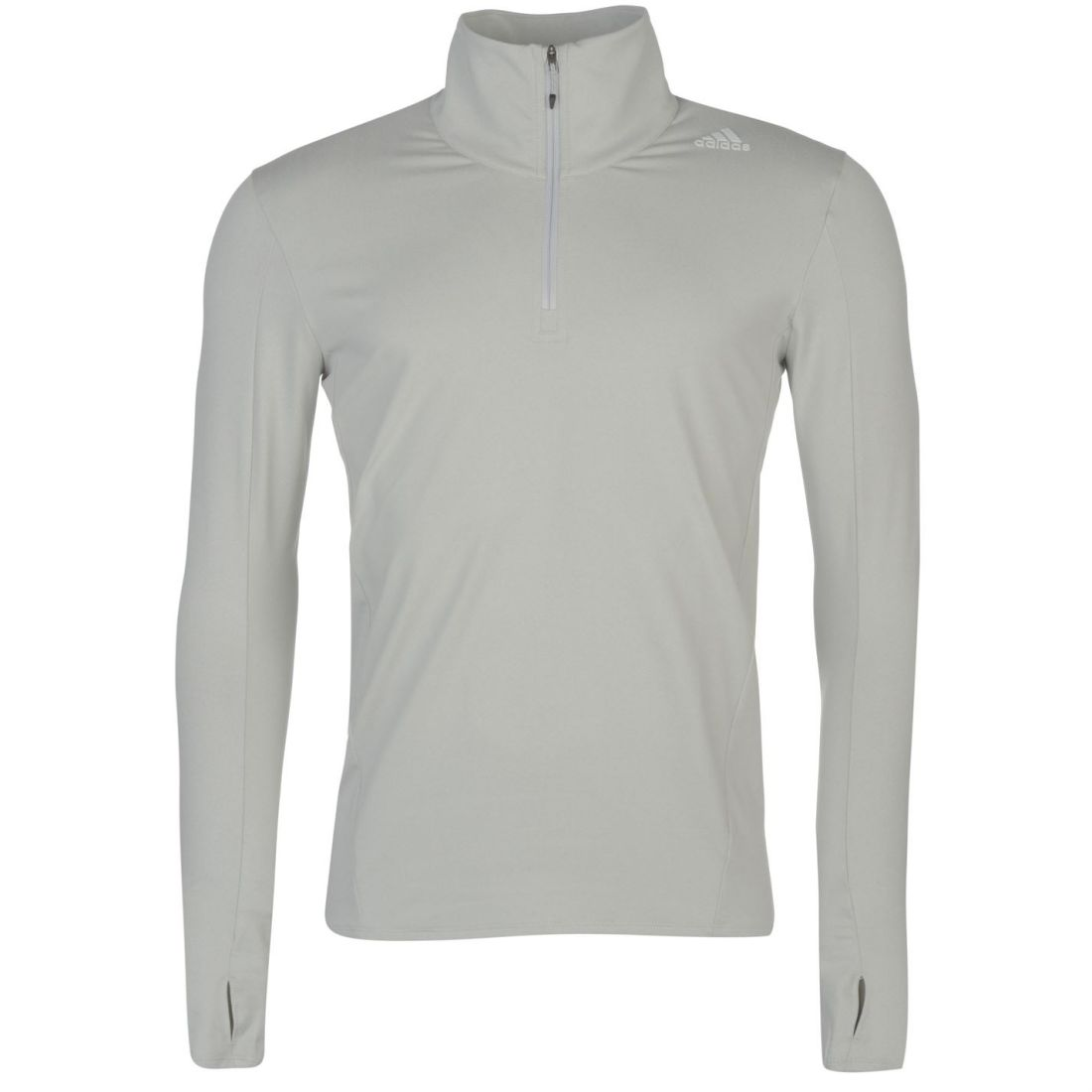 f499efe7 Details about adidas SuperNova Half Zip Running Jacket Mens Gents Full  Length Sleeve