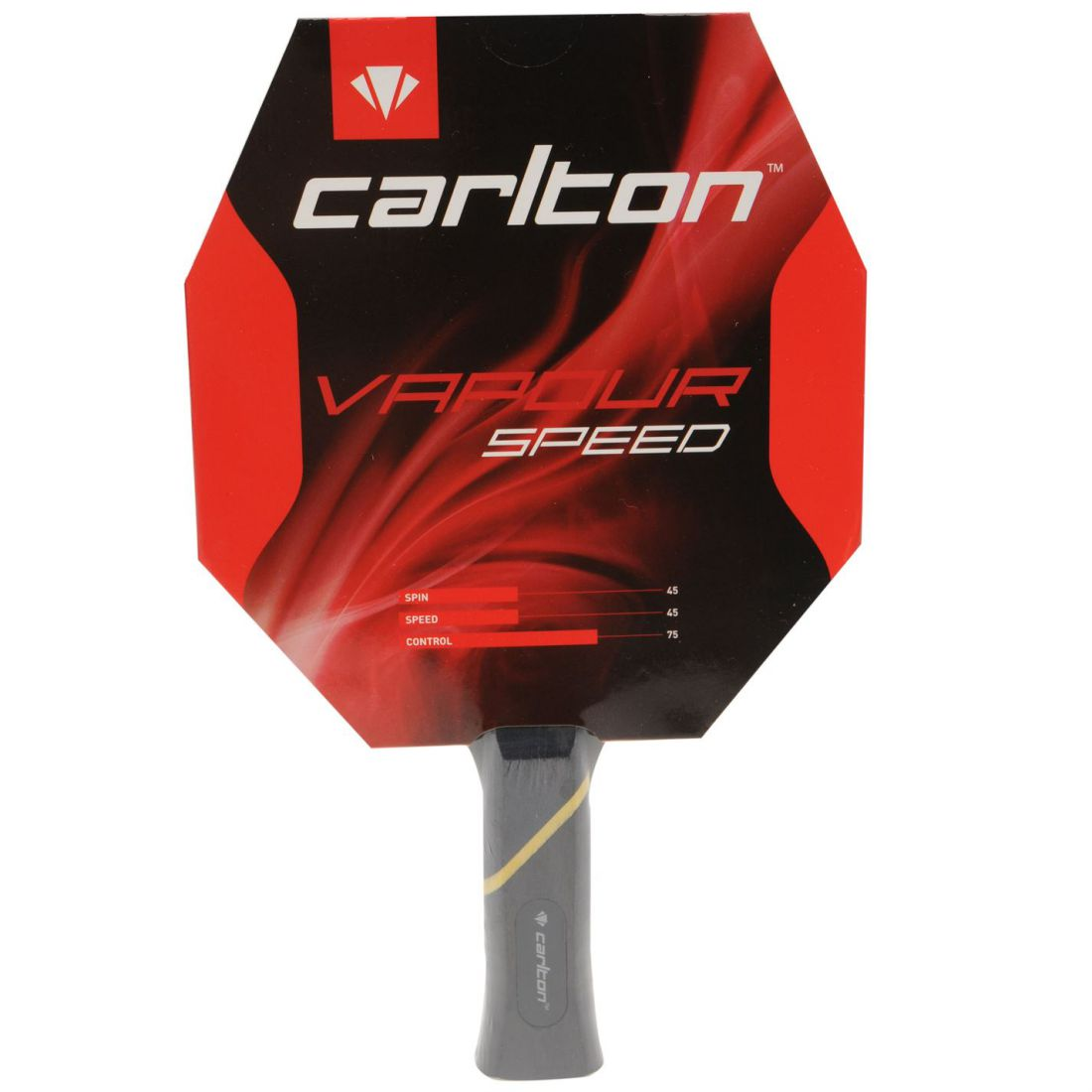 bc376bf336d4 Carlton Unisex Vapour Sp TTBat00 Table Tennis Bat 5057668899779