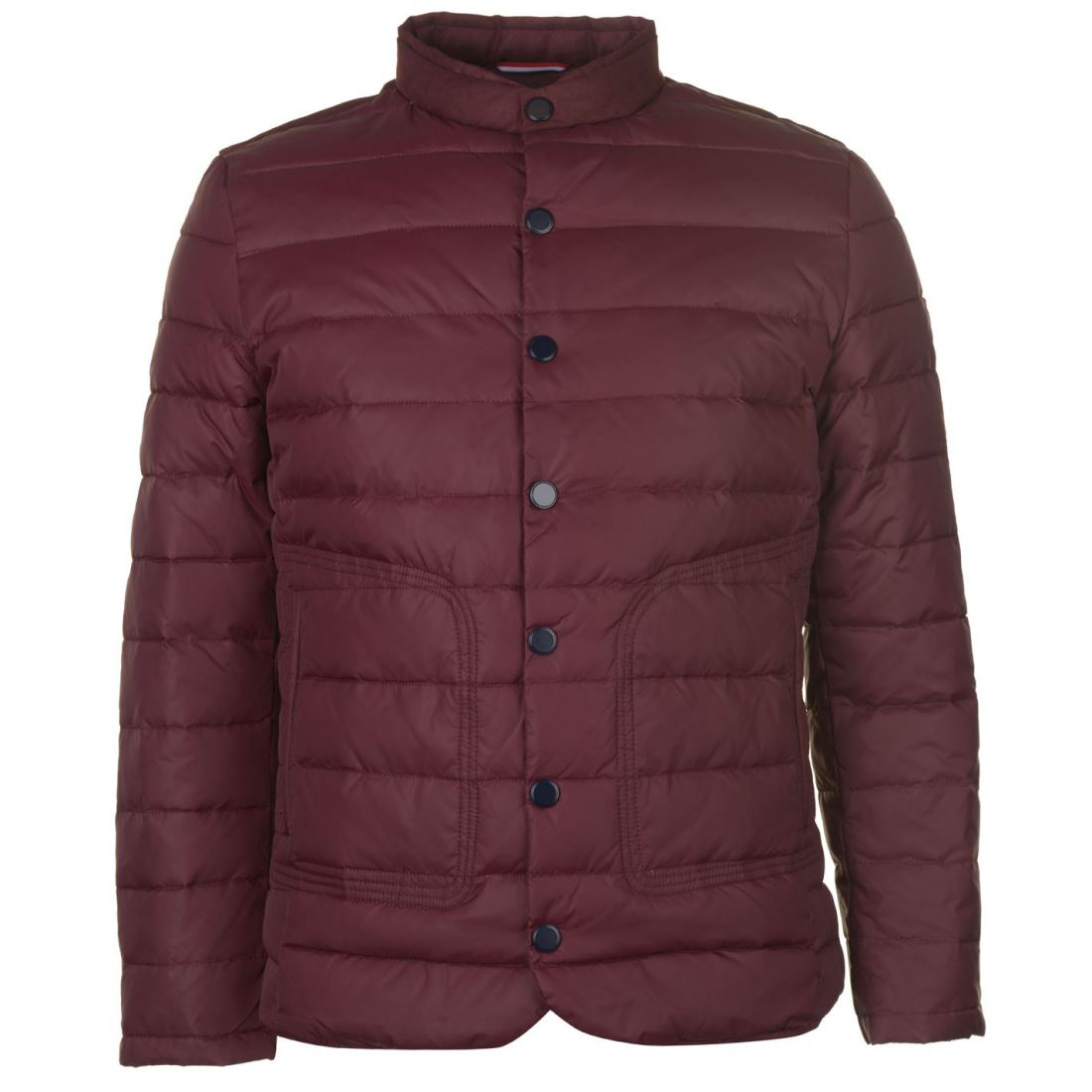 4cea6dcf2 Details about Lee Cooper Essential Down Jacket Mens Gents Coat Top Full  Length Sleeve