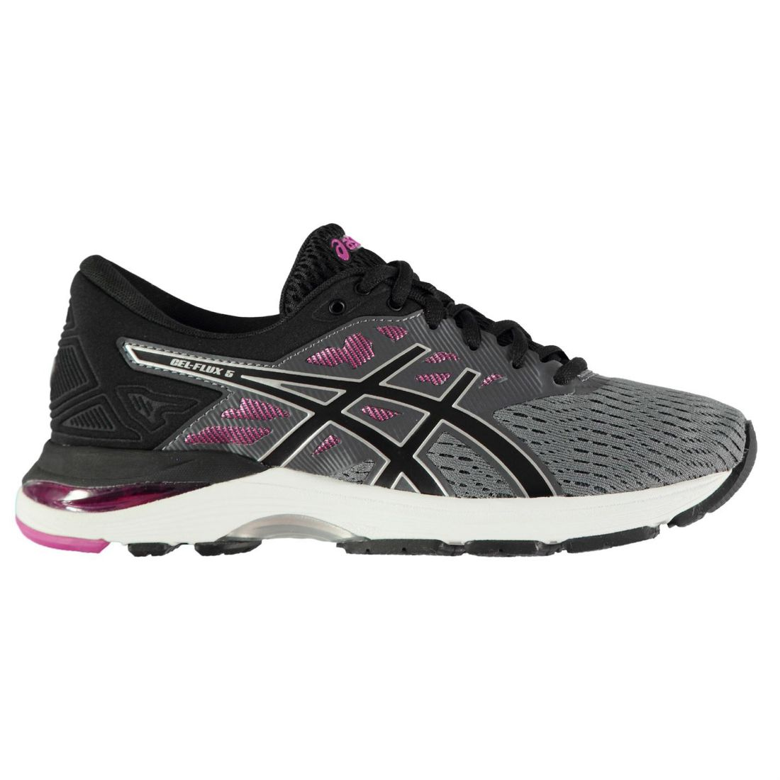 Asics Gel Flux 5 Running shoes Ladies Road Laces Fastened Ventilated Padded