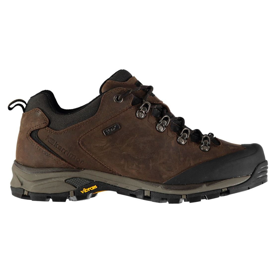 Karrimor Mens Cheetah Low WTX Walking shoes Waterproof Breathable Vibram Leather