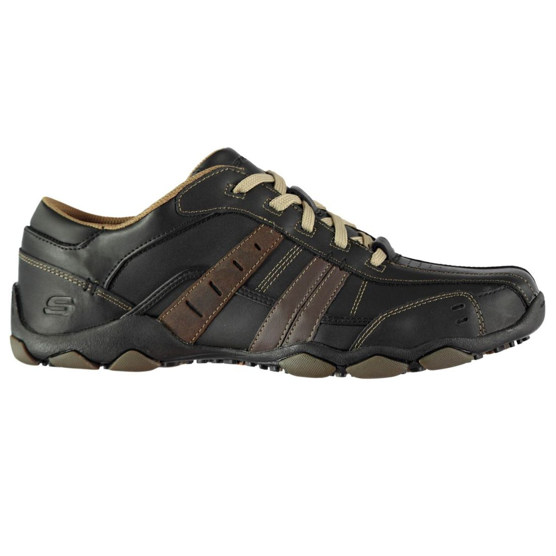 Skechers Diam Vasse Turnschuhe Mens Gents Everyday schuhe Laces Fastened Padded