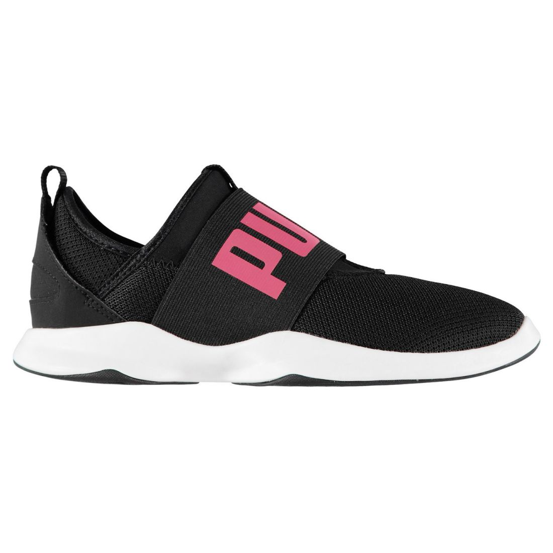 a121dabb8c Puma Kids Girls Dare Junior Trainers Runners Slip On Breathable Strap