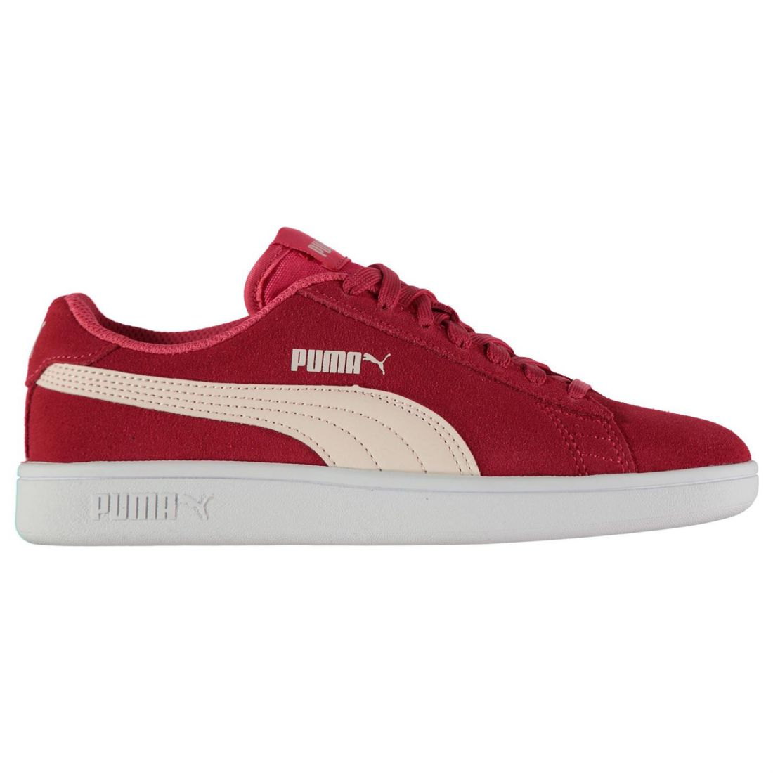 Puma Smash Suede Youngster Girls Sneakers Laces Fastened ... 4049078fd