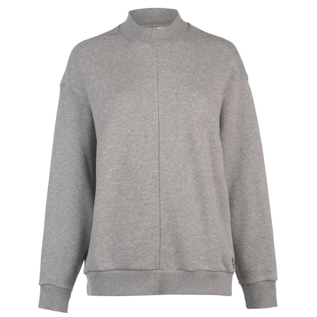 9f3199c46f6ec Details about Reebok EE Crew Neck Sweatshirt Ladies Performance Hoodie T  Shirt Tee Top Jumper