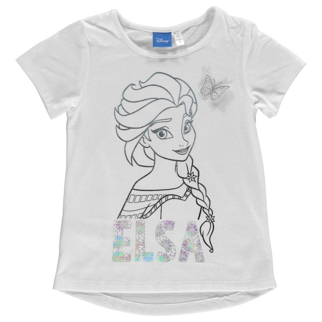 7b62180c00dc Character Short Sleeve T Shirt Infants Girls Crew Neck Tee Top Round ...