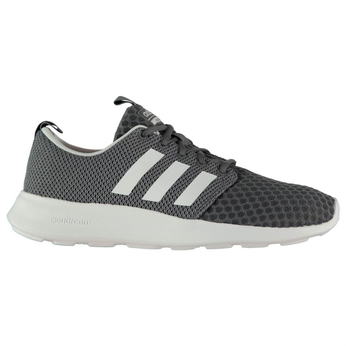 Adidas Cloudfoam Swift Trainer Mens Gents Runners Laces Fastened Ventilated