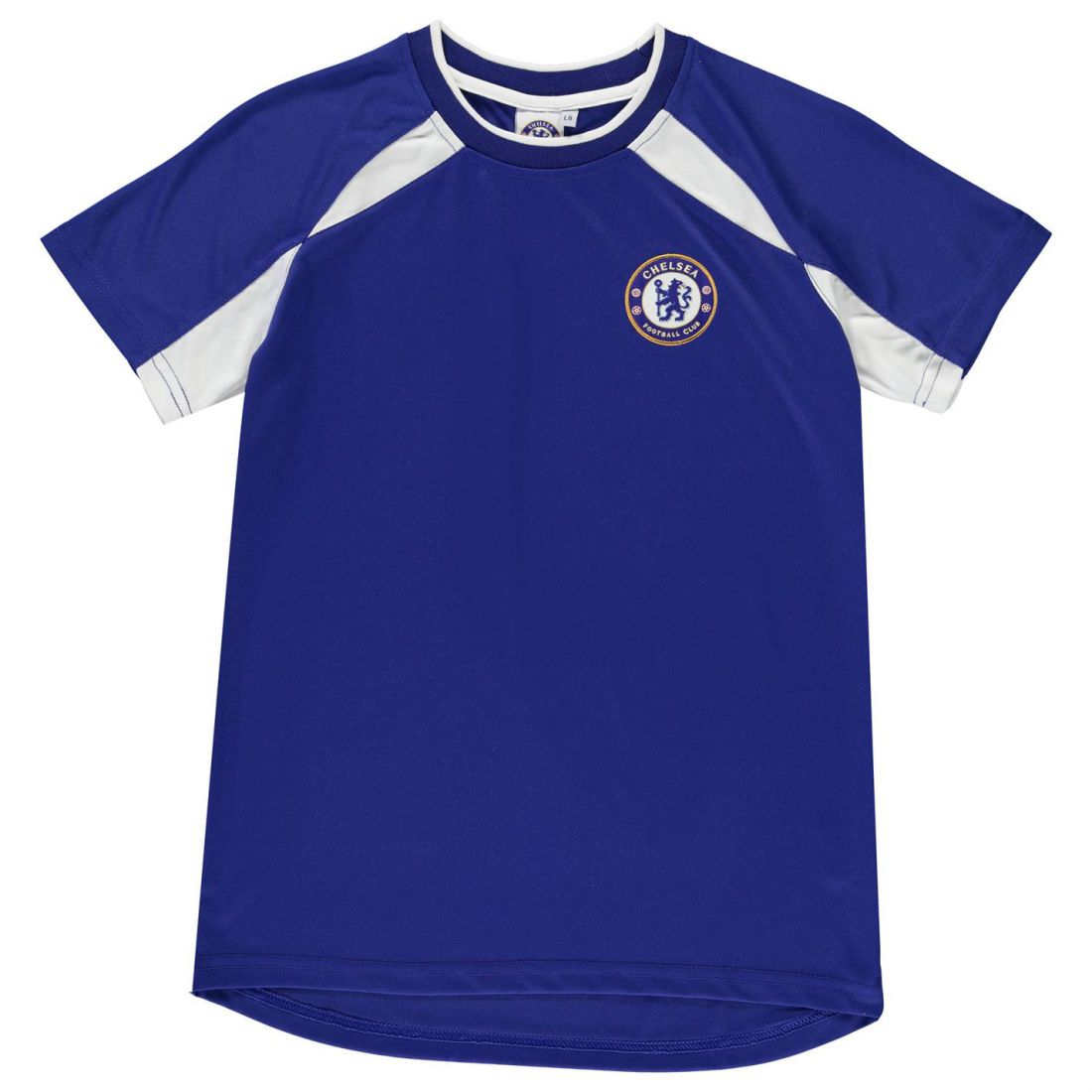 buy popular a568a e75a6 Details about Source Lab Kids Chelsea Poly T Shirt Infant Boys Football  Sports Training Top