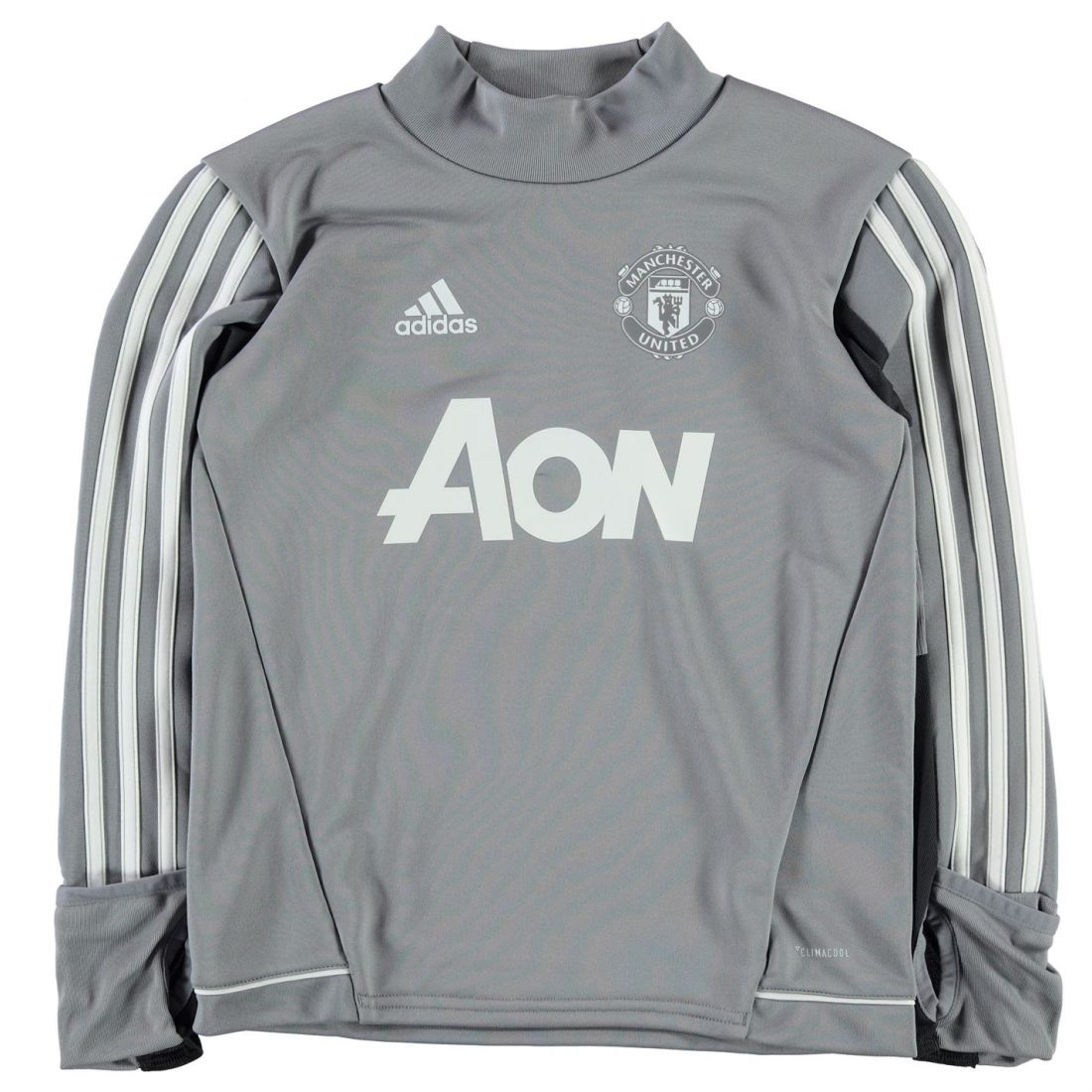 540d65a2535 adidas Kids Boys Manchester United Training Top Junior Short Sleeve  Performance